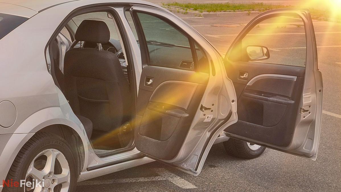 Jak w 10 sekund ochłodzić nagrzany samochód bez klimatyzacji!