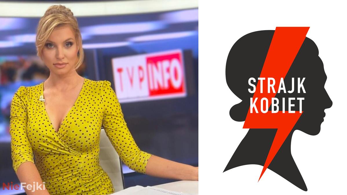 Dziennikarka TVP wspiera protest kobiet!