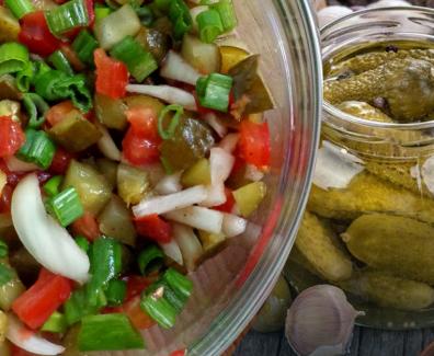 ogorki salatka