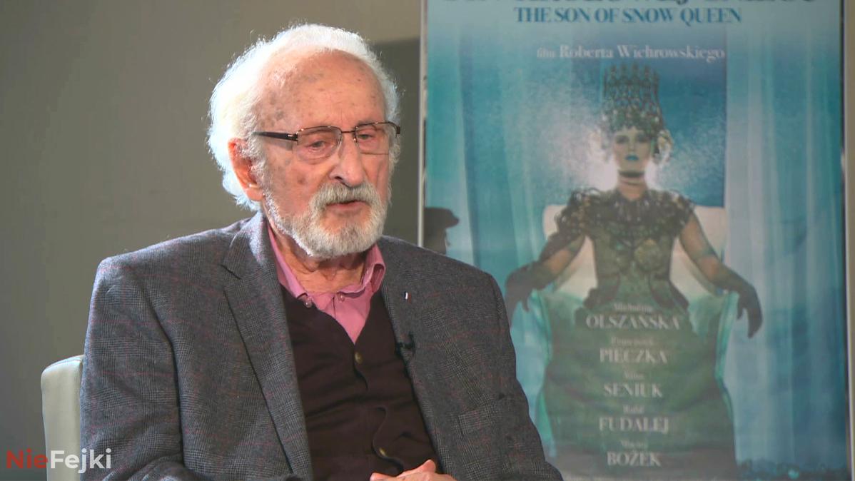 Franciszek Pieczka kończy 93 lata. Czy zaszczepi się na koronawirusa?
