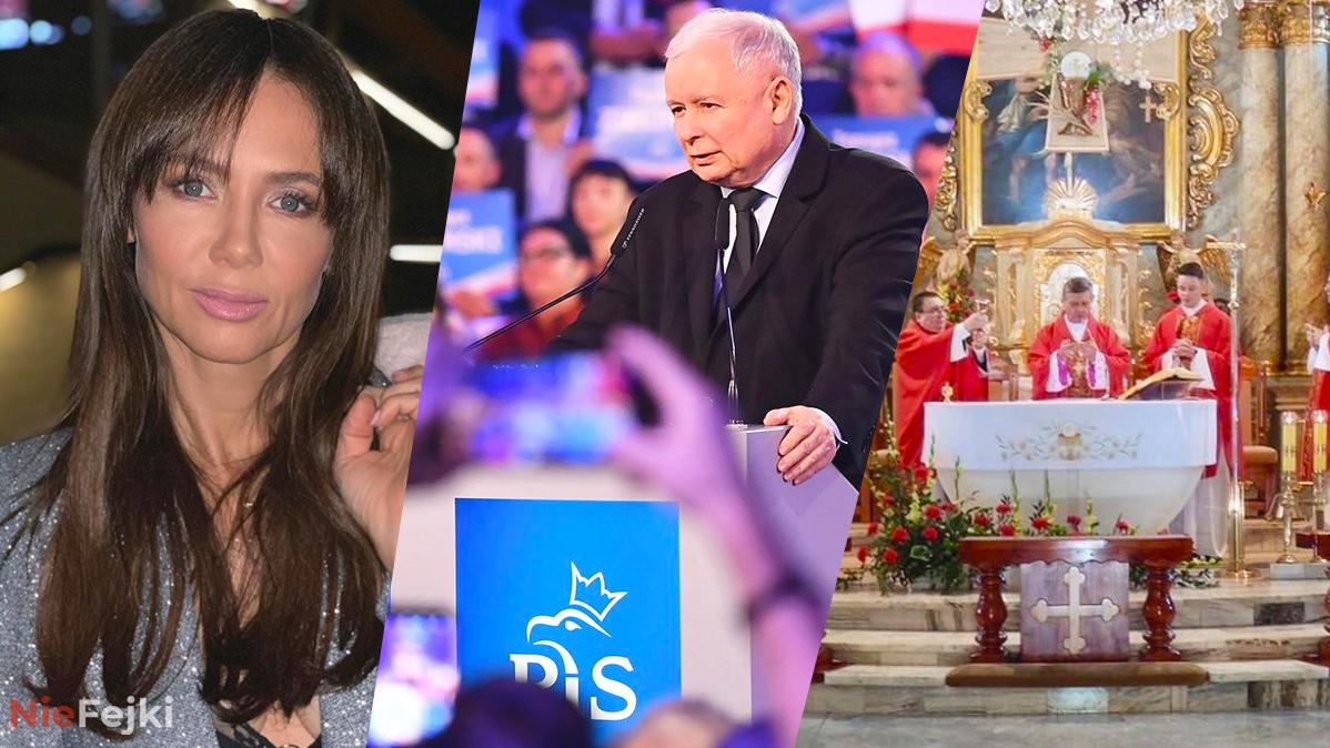 Kinga Rusin wierszem ciśnie po Kościele, PiS i TVP.