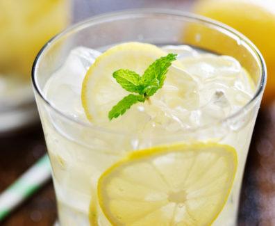woda z cytryno