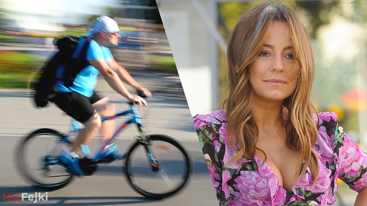Anna Mucha ostro o rowerzystach! Przesadziła?