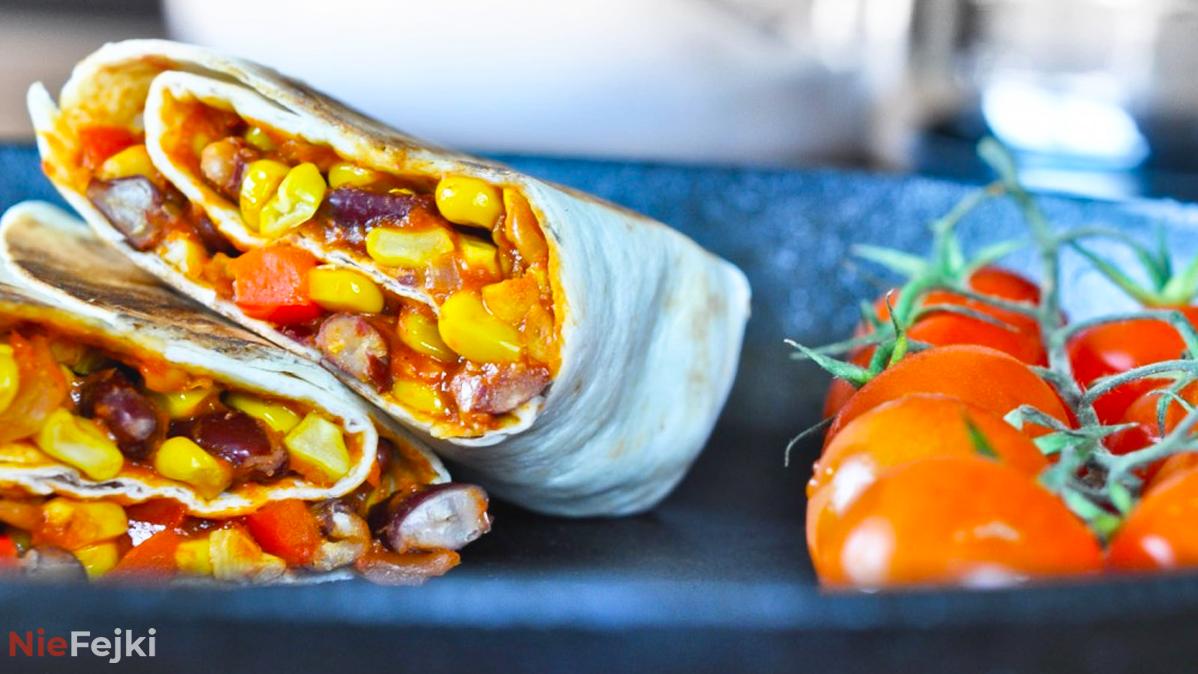 Burrito w wersji wegetariańskiej! Zobacz przepis!