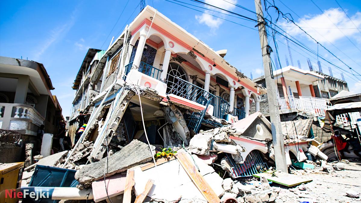 Haiti zmaga się z potwornymi klęskami żywiołowymi