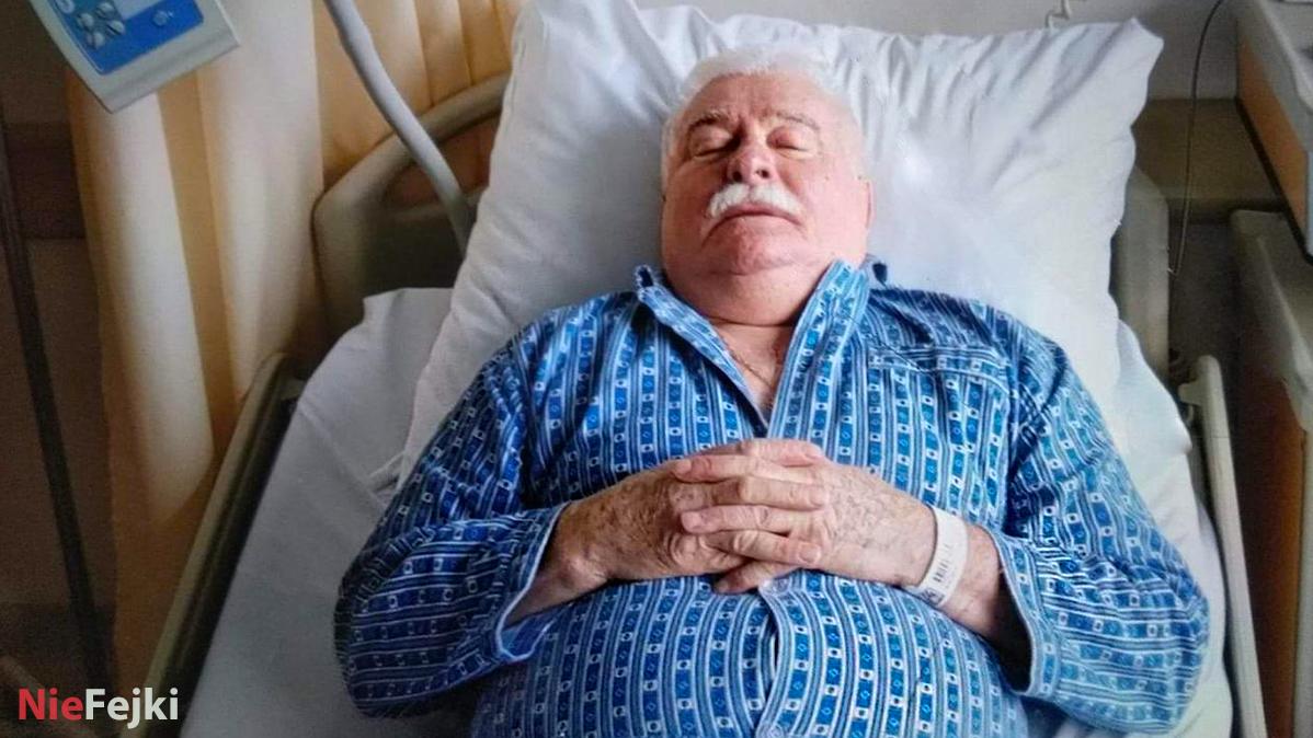 Lech Wałęsa od dwóch dni w szpitalu, co się stało?
